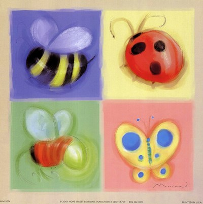 4 Bug Panel Poster by Anthony Morrow for $11.25 CAD