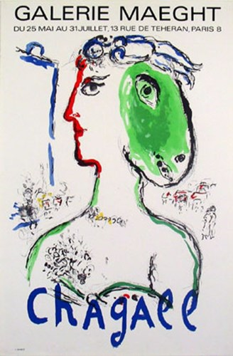 Artist as Phoenix Limited Edition in Excellent Condition CALL FOR DETAILS Poster by Marc Chagall for $750.00 CAD