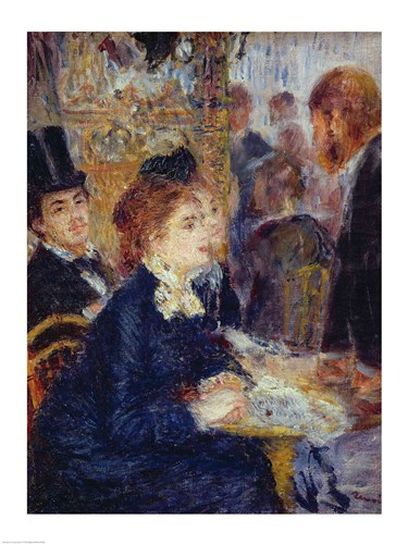 At the Cafe Poster by Pierre-Auguste Renoir for $30.00 CAD