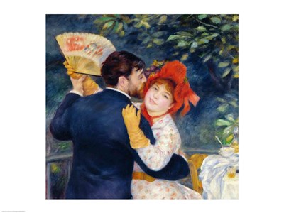 A Dance in the Country, 1883 - upclose Poster by Pierre-Auguste Renoir for $32.50 CAD