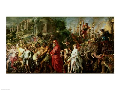 A Roman Triumph, c.1630 Poster by Peter Paul Rubens for $30.00 CAD