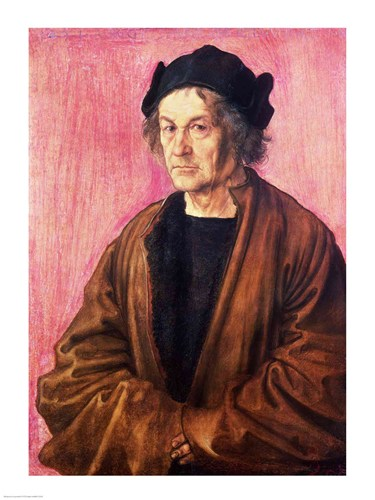 Albrecht Durer's Father, 1497 Poster by Albrecht Durer for $30.00 CAD