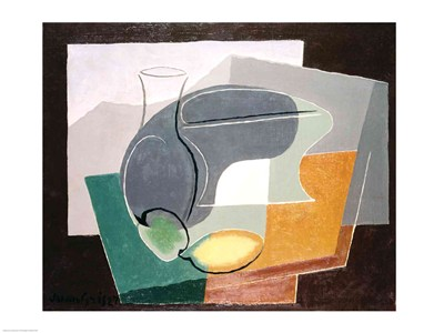 Fruit-dish and carafe, 1927 Poster by Juan Gris for $30.00 CAD