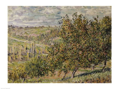 Apple Blossom Poster by Claude Monet for $30.00 CAD