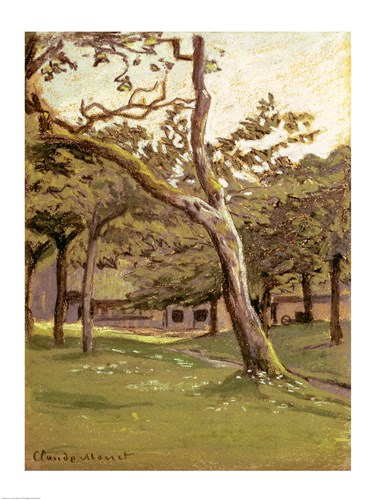 An Orchard Poster by Claude Monet for $30.00 CAD