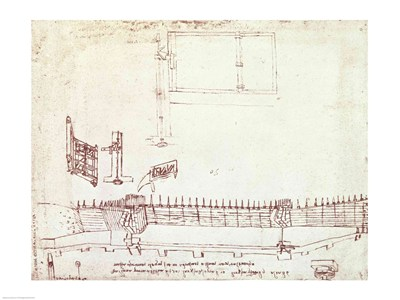 Design for Fortifications Poster by Leonardo Da Vinci for $32.50 CAD