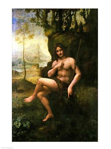 Bacchus, c.1695 Poster by Leonardo Da Vinci for $30.00 CAD