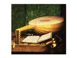 The Ambassadors, 1533, Guitar Detail