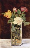 Roses and Tulips in a Vase, 1883