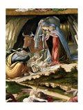 Mystic Nativity, 1500 (detail 2)