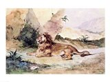 A Lion in the Desert, 1834