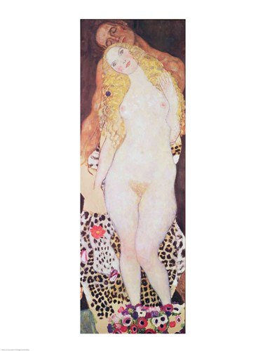 Adam and Eve, 1917-18 Poster by Gustav Klimt for $30.00 CAD