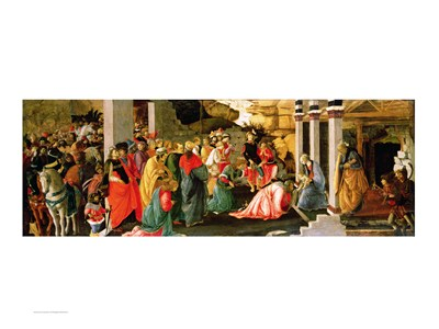 Adoration of the Magi, c.1470 Poster by Sandro Botticelli for $32.50 CAD