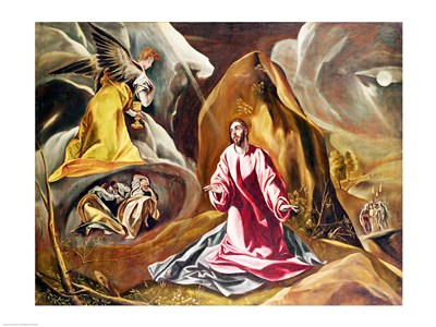 Agony in the Garden of Gethsemane Poster by El Greco for $30.00 CAD