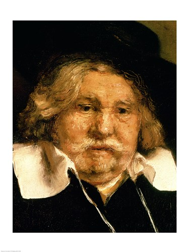 Detail of a Portrait of an old man, 1667 Poster by Rembrandt van Rijn for $30.00 CAD