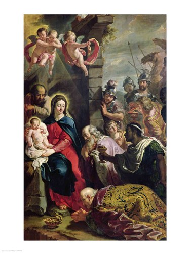 Adoration of the Magi Poster by Philippe De Champaigne for $32.50 CAD