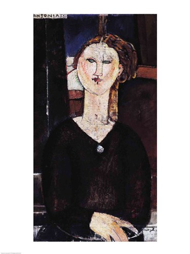 Antonia, c.1915 Poster by Amedeo Modigliani for $30.00 CAD