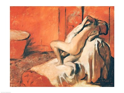 After the Bath Poster by Edgar Degas for $32.50 CAD