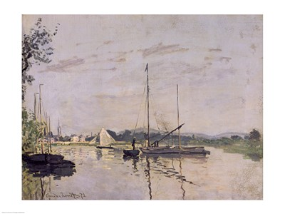 Argenteuil, 1872 Poster by Claude Monet for $30.00 CAD