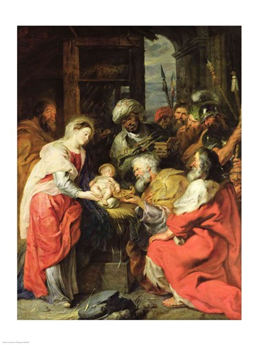 Adoration of the Magi Poster by Peter Paul Rubens for $32.50 CAD