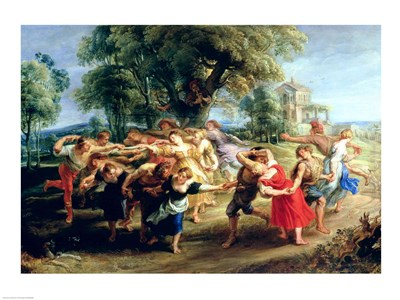 A Peasant Dance Poster by Peter Paul Rubens for $30.00 CAD