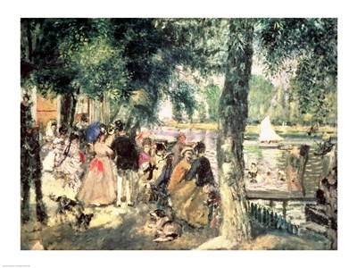 Bathing on the Seine Poster by Pierre-Auguste Renoir for $30.00 CAD