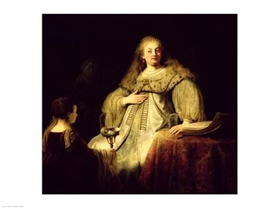 Artemisia, 1634 Poster by Rembrandt van Rijn for $30.00 CAD