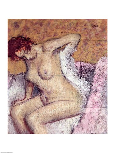 After the Bath Poster by Edgar Degas for $30.00 CAD
