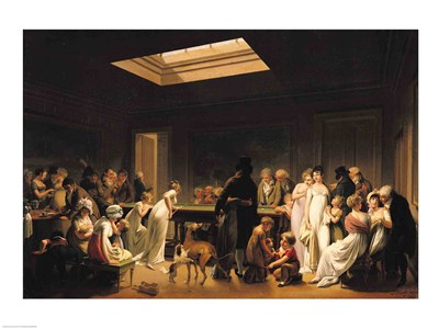 A Game of Billiards, 1807 Poster by Louis-Leopold Boilly for $30.00 CAD