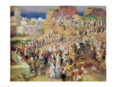 Arab Festival, 1881 Poster by Pierre-Auguste Renoir for $30.00 CAD