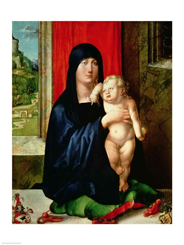Madonna and Child 3 Poster by Albrecht Durer for $32.50 CAD