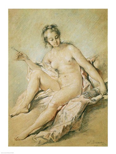 A study of Venus, 1751 Poster by Francois Boucher for $30.00 CAD