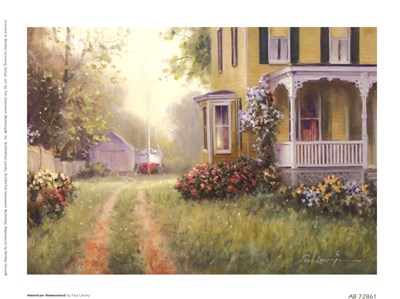 American Homestead Poster by Paul Landry for $8.75 CAD
