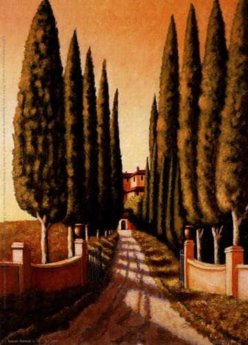 Tuscan Retreat Poster by Santo Devita for $8.75 CAD