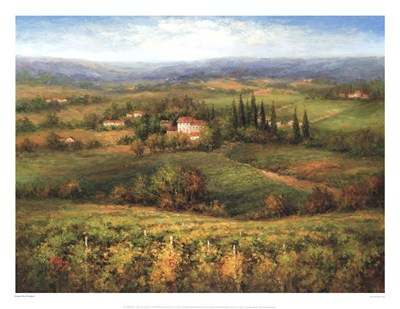 Villa d'Calabria Poster by Peter Hulsey for $68.75 CAD