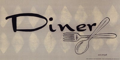 Diner Poster by Bonnee Berry for $7.50 CAD