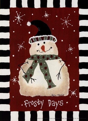 Frosty Days Poster by Lori Maphies for $7.50 CAD