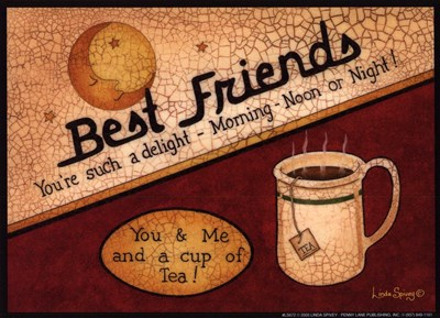Best Friends Poster by Linda Spivey for $7.50 CAD
