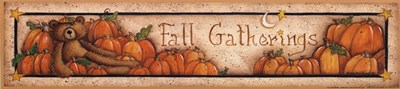 Fall Gatherings Poster by Mary Ann June for $11.25 CAD