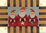 Santa Trio