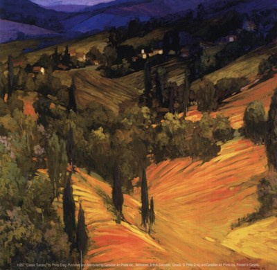Classic Tuscany Poster by Philip Craig for $8.75 CAD
