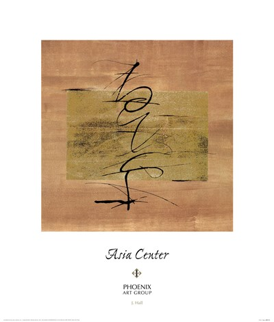 Asia Center I Poster by Jay Hall for $40.00 CAD