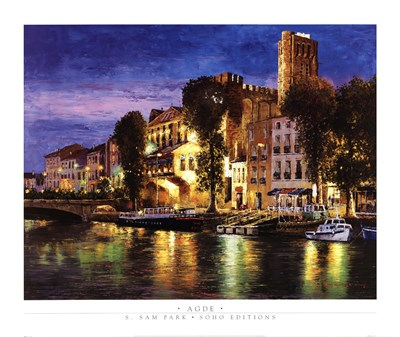 Agde Poster by Sung Sam Park for $47.50 CAD