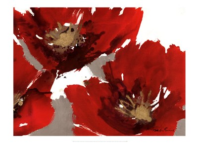 Red Poppy Forrest II Poster by Natasha Barnes for $40.00 CAD