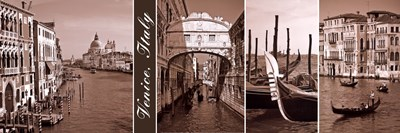A Glimpse of Venice Poster by Jeff Maihara for $32.50 CAD