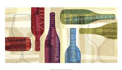 All Bottled Up Poster by Tandi Venter for $58.75 CAD
