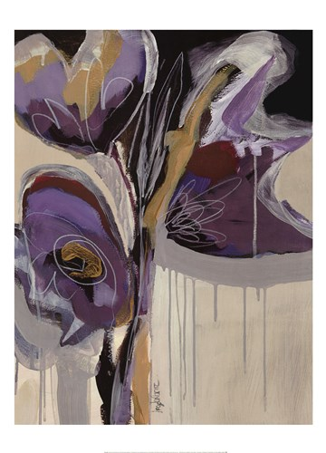 Floral Impressions II Poster by Angela Maritz for $40.00 CAD