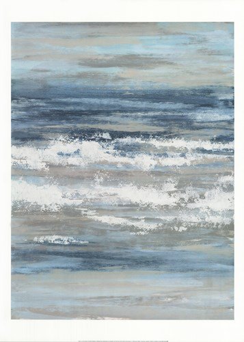 At The Shore I Poster by Rita Vindedzis for $40.00 CAD