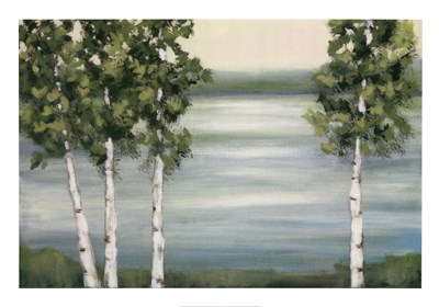 Quiet Lake Poster by Rita Vindedzis for $58.75 CAD