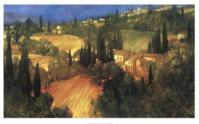 Hillside - Tuscany Poster by Philip Craig for $112.50 CAD